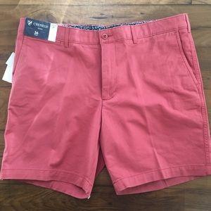 Cremieux Soho Chino Salmon Pink Golf Shorts New